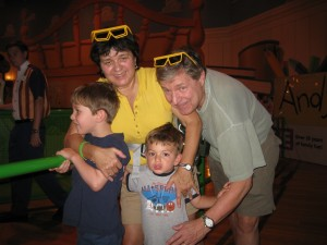 Grandma, Grandpa, Nicholas and William