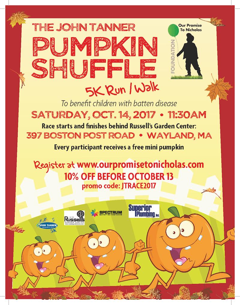 John Tanner Pumpkin Shuffle